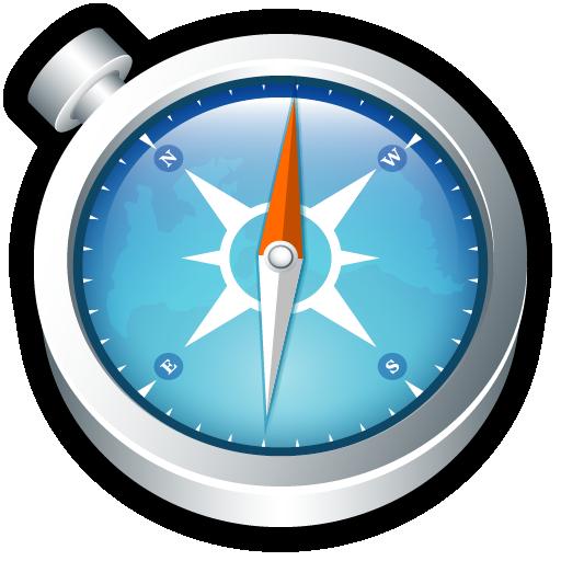 Safari, shortcut, system icon.