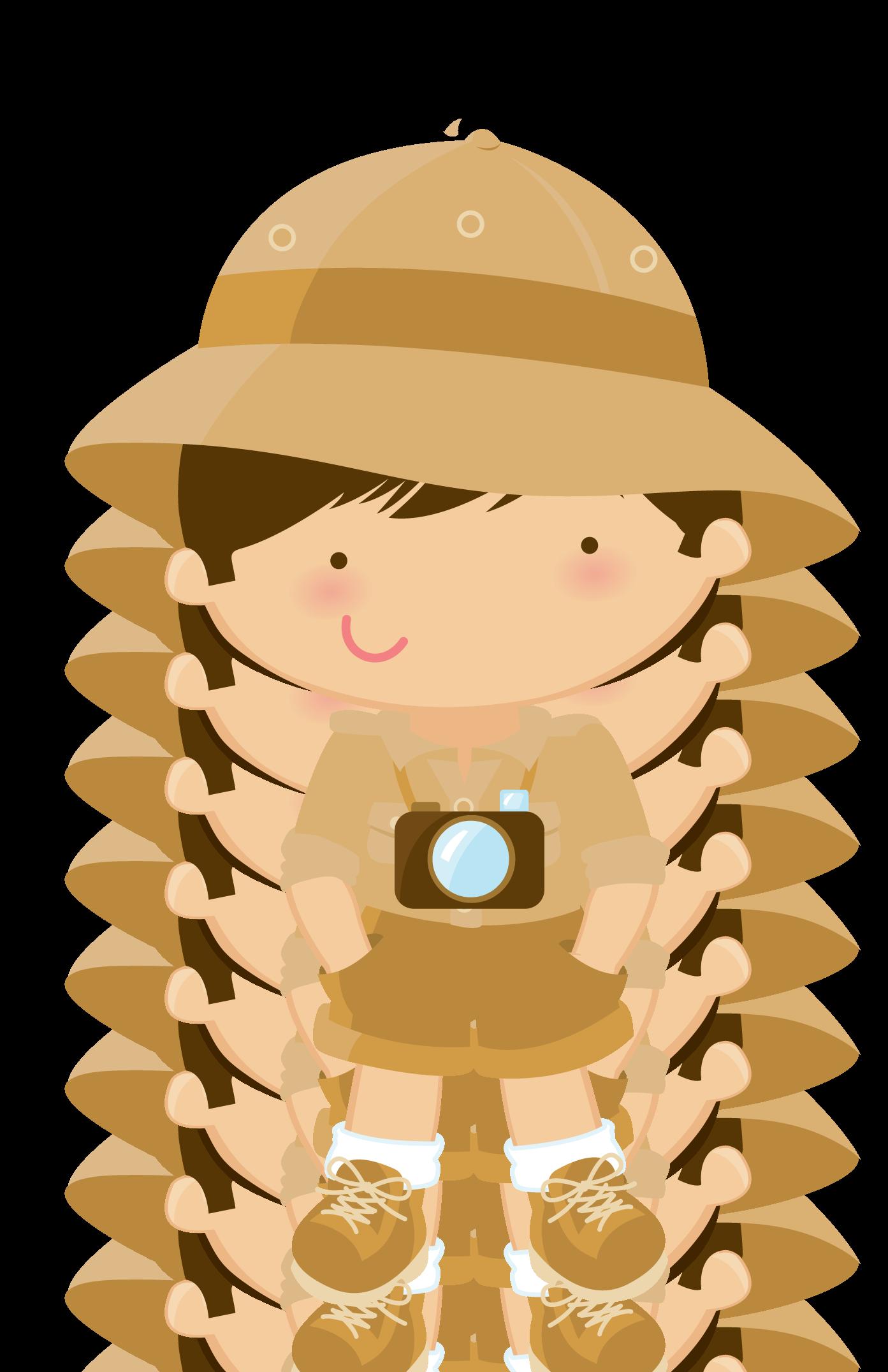 Explorer clipart safari hat.