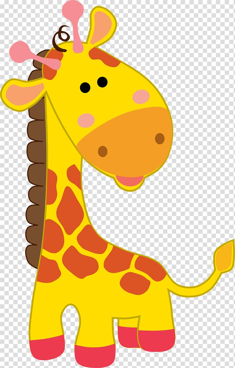 Northern giraffe Safari Party Drawing, safari transparent.