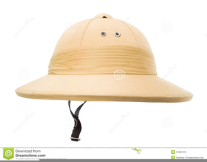 Free Clipart Safari Hat.