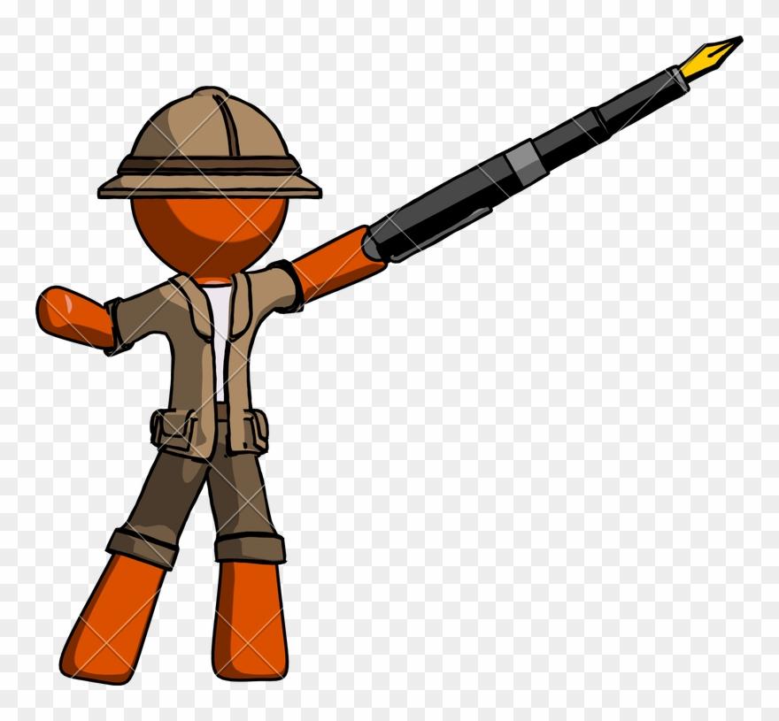 Explorer Drawing Safari Hunter Clipart (#3110601).