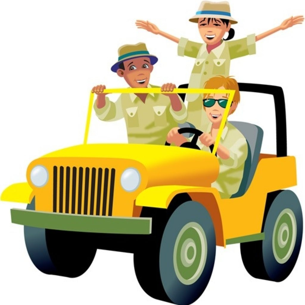 Safari jeep clipart » Clipart Station.
