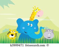 Safari park Clip Art and Illustration. 1,173 safari park clipart.