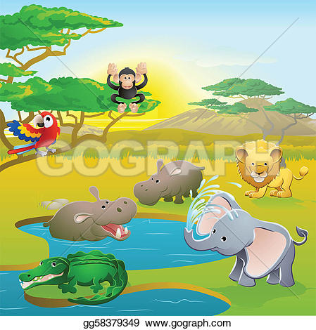 Safari Clip Art.