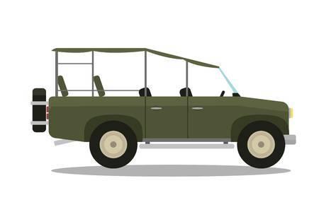 Safari vehicle clipart 3 » Clipart Portal.