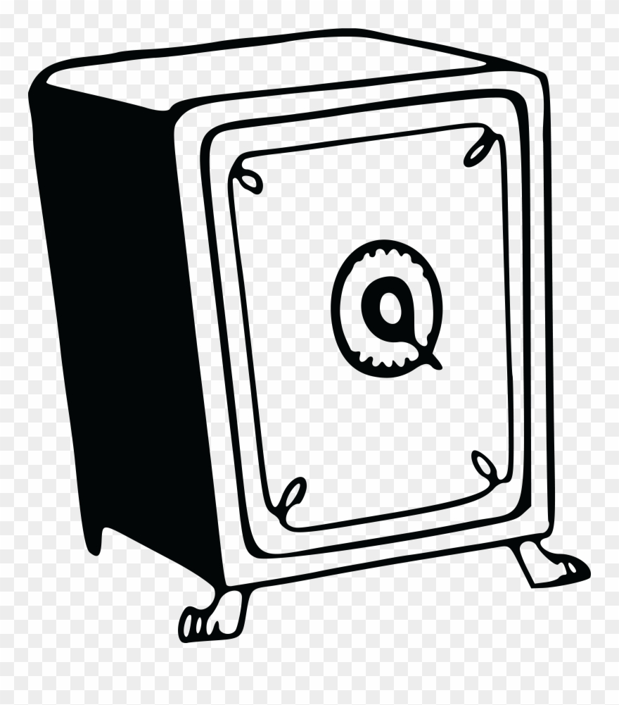 Free Clipart Of A Safe.