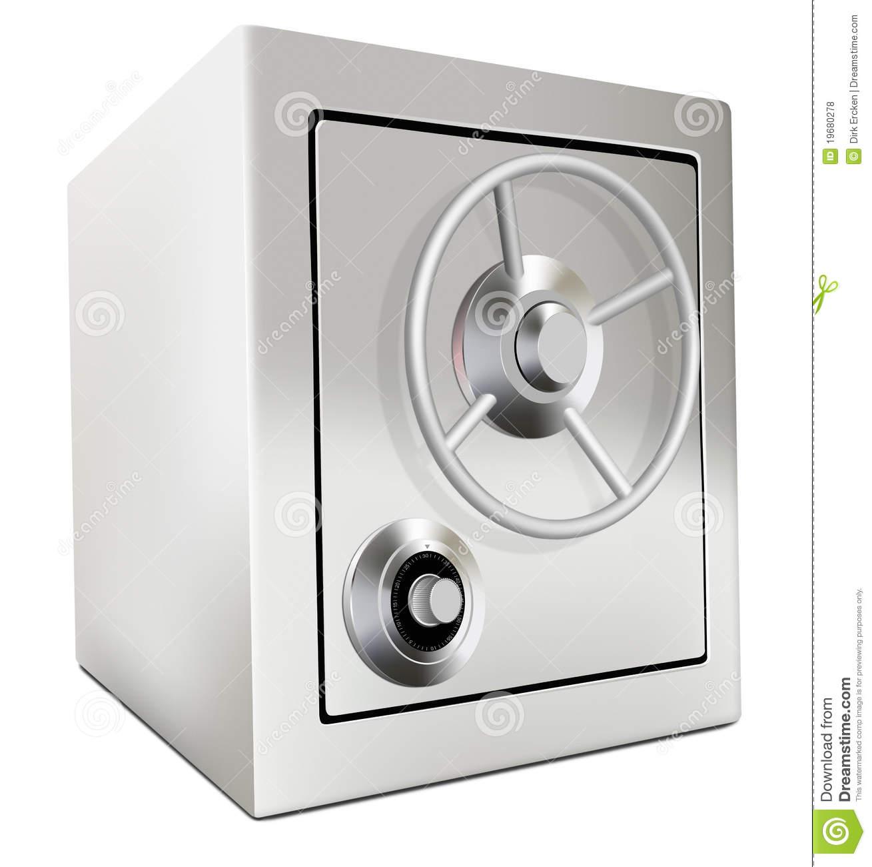 Bank Vault Safe Deposit Box Stock Images.