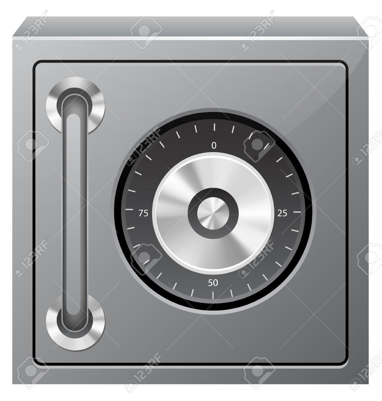 Safe Deposit Box Clip Art.