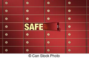 Safe deposit boxes Clipart and Stock Illustrations. 3,893 Safe.