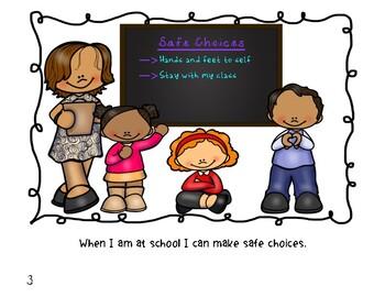 Social Narrative: I Can Be Safe At School!.