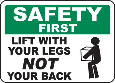 Safe Lifting Online Quiz.