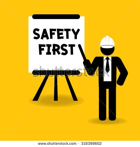 Lifting Safety Clipart.
