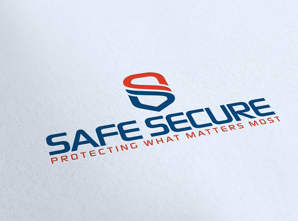 Safe Secure Logo Design.