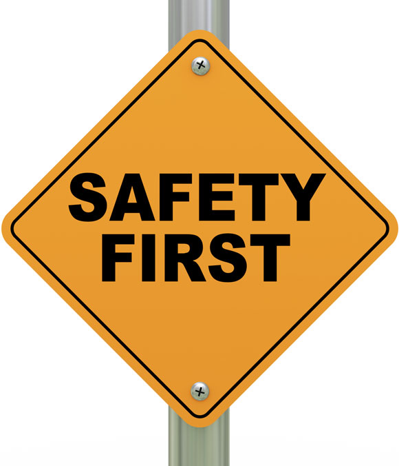 Safety Cartoon Clipart.