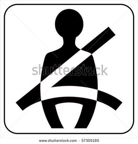 Seat Belt Buckle Clipart.