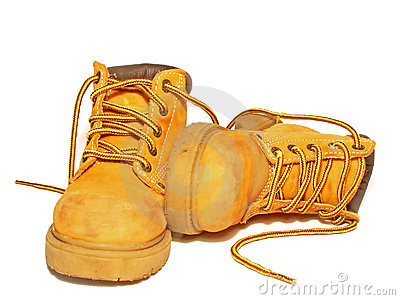 Safety Work Boot Clipart.