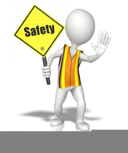 Hand Tool Safety Clipart.