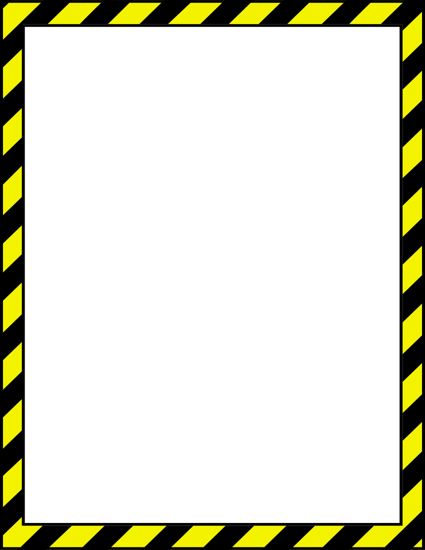 Safety clipart borders clipart images gallery for free.