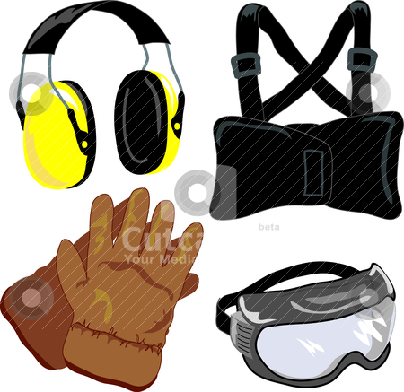Personal Protective Equipment Clipart.