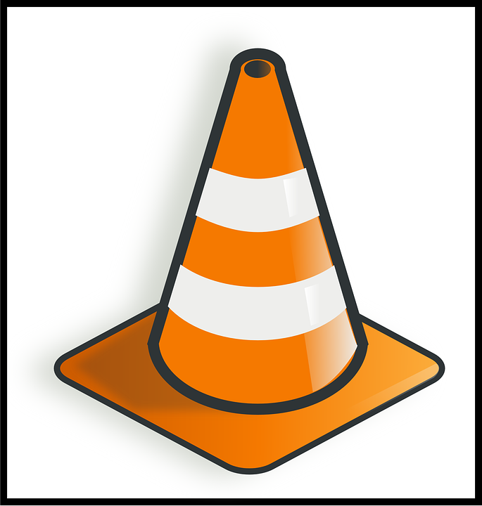 Free vector graphic: Traffic, Cone, Warning, Safety.