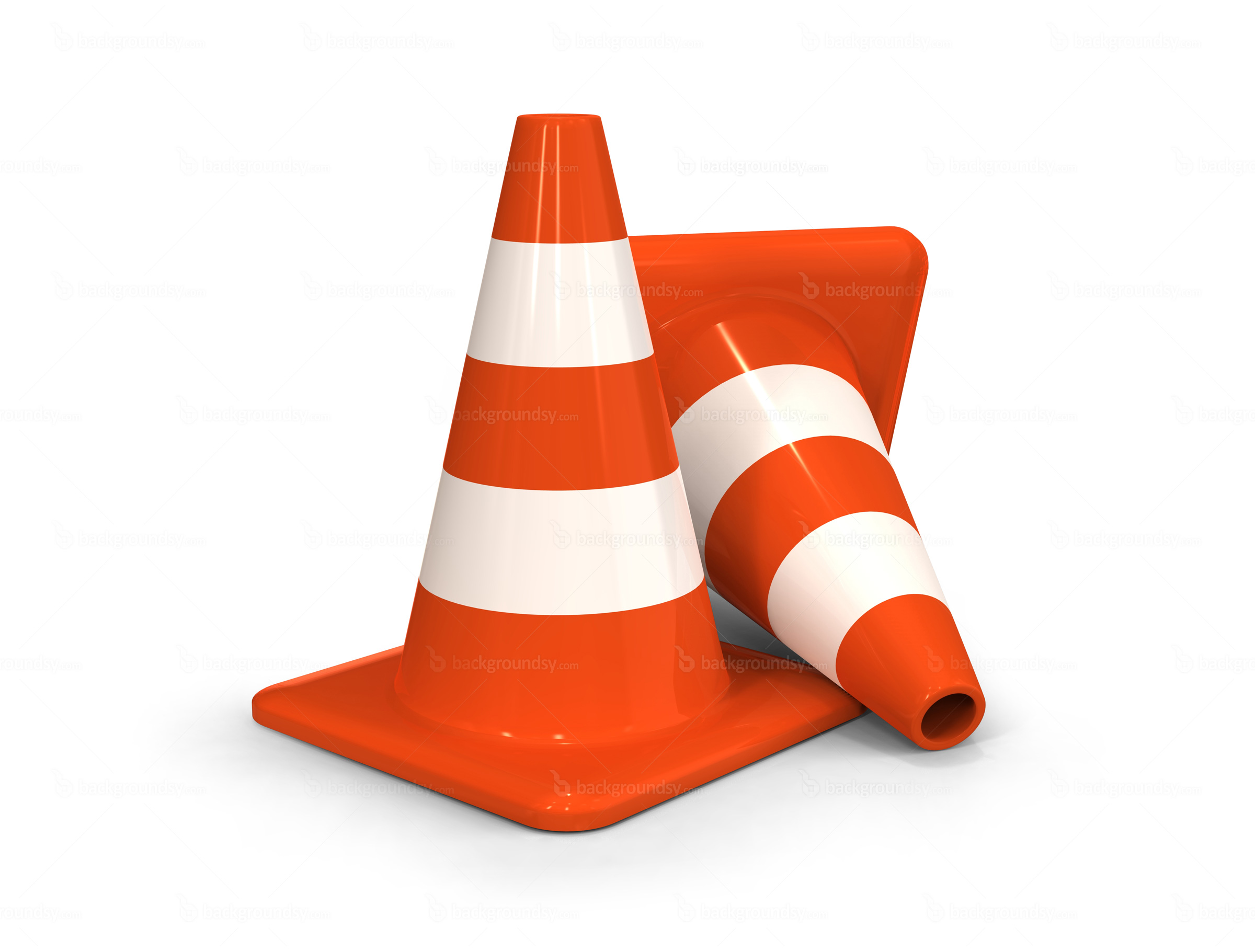 Orange Traffic Cone Clipart.