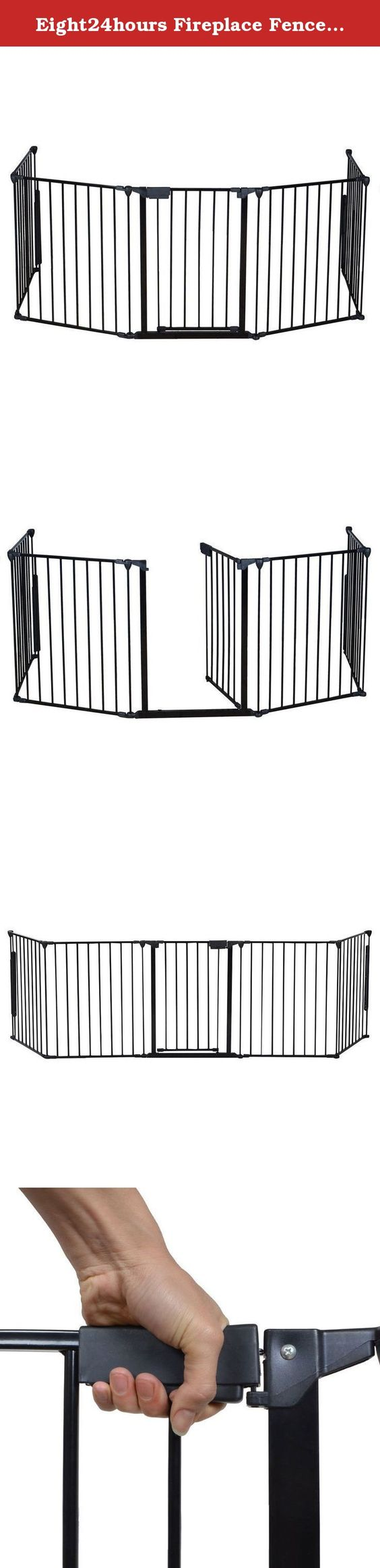 Eight24hours Fireplace Fence Baby Safety Fence Hearth Gate BBQ.
