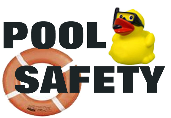 Swimming safety clipart.