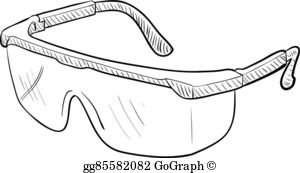 Safety Goggles Clip Art.