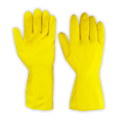 Rubber Hand Gloves Safetix.