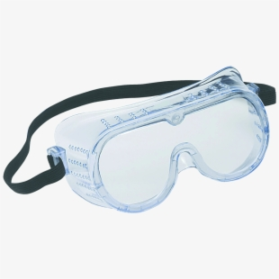 Optical Clipart Safety Goggles.