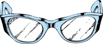 Safety glasses clip art image #14595.
