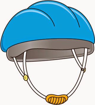 Blue Safety Helmet Clipart.