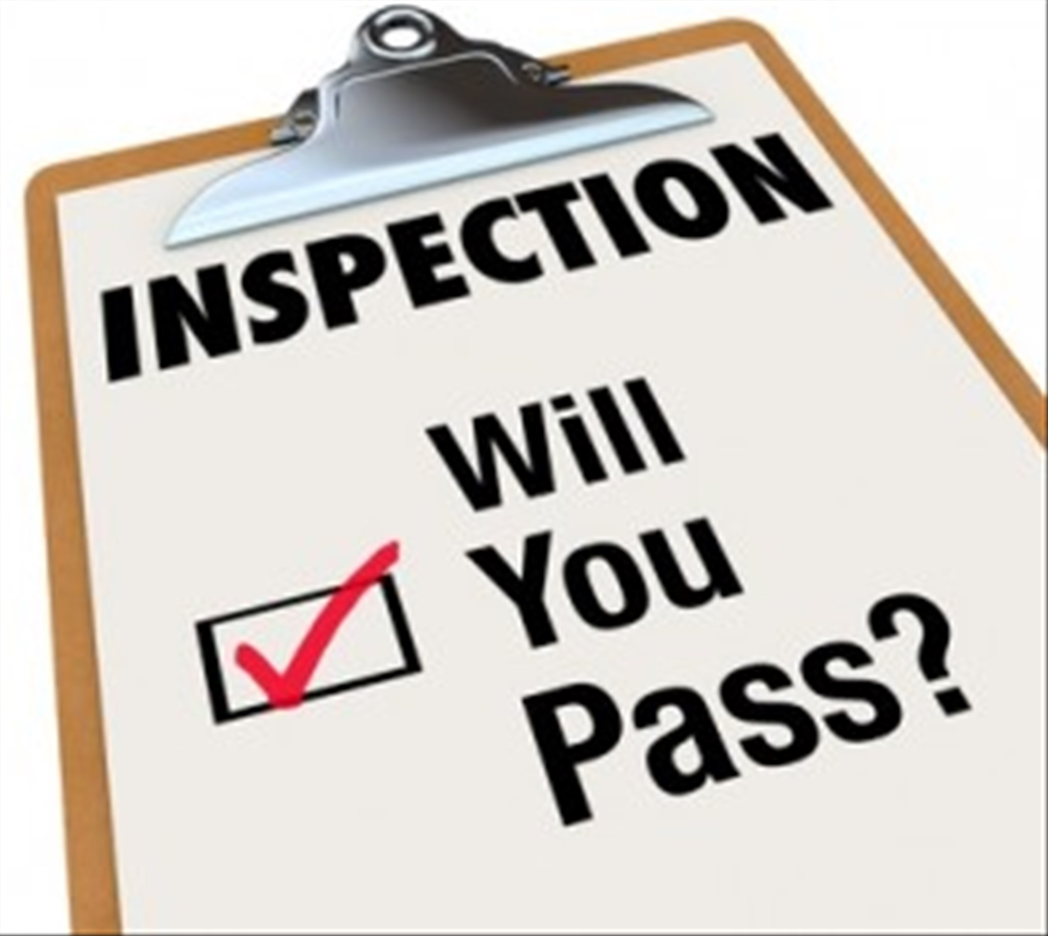Fire Inspection Clipart.