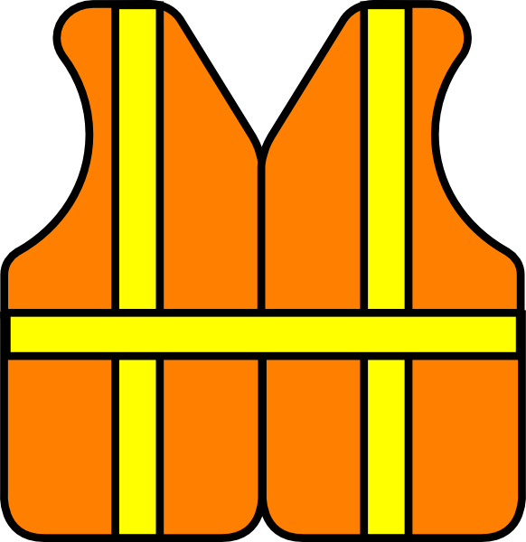 Safety Vest Clipart.