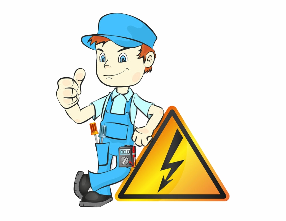 Man Clipart Electricity.