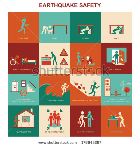 Earthquake Stock Images, Royalty.
