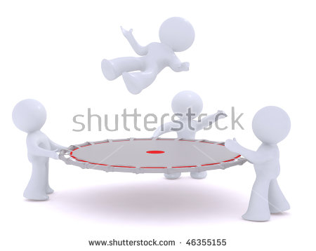 Safety Net Stock Images, Royalty.