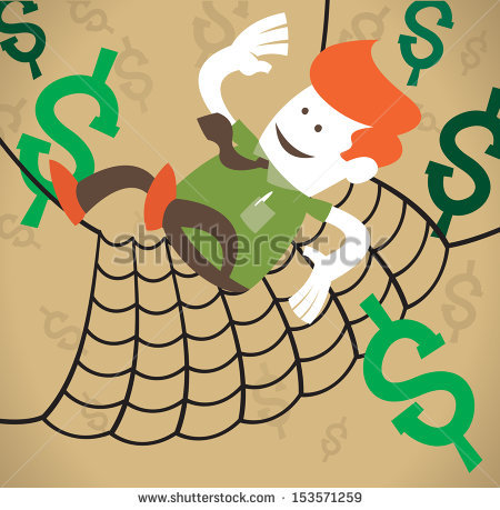Safety net clipart #6
