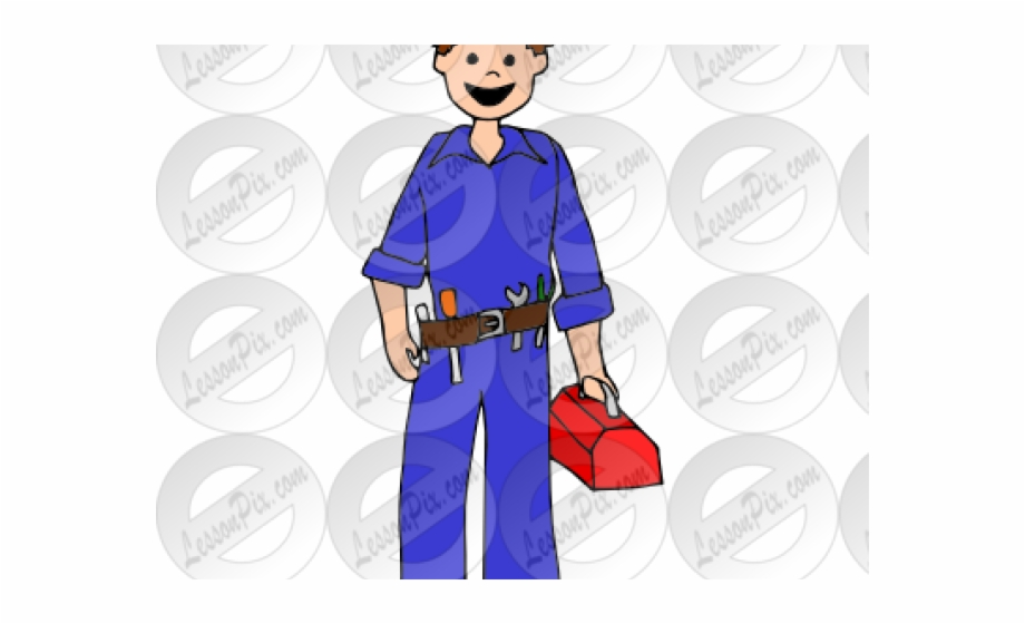 Electrician clipart safety officer, Electrician safety.