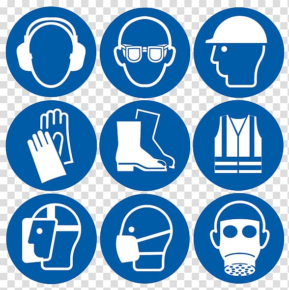 Personal protective equipment Safety Sign Goggles , others.