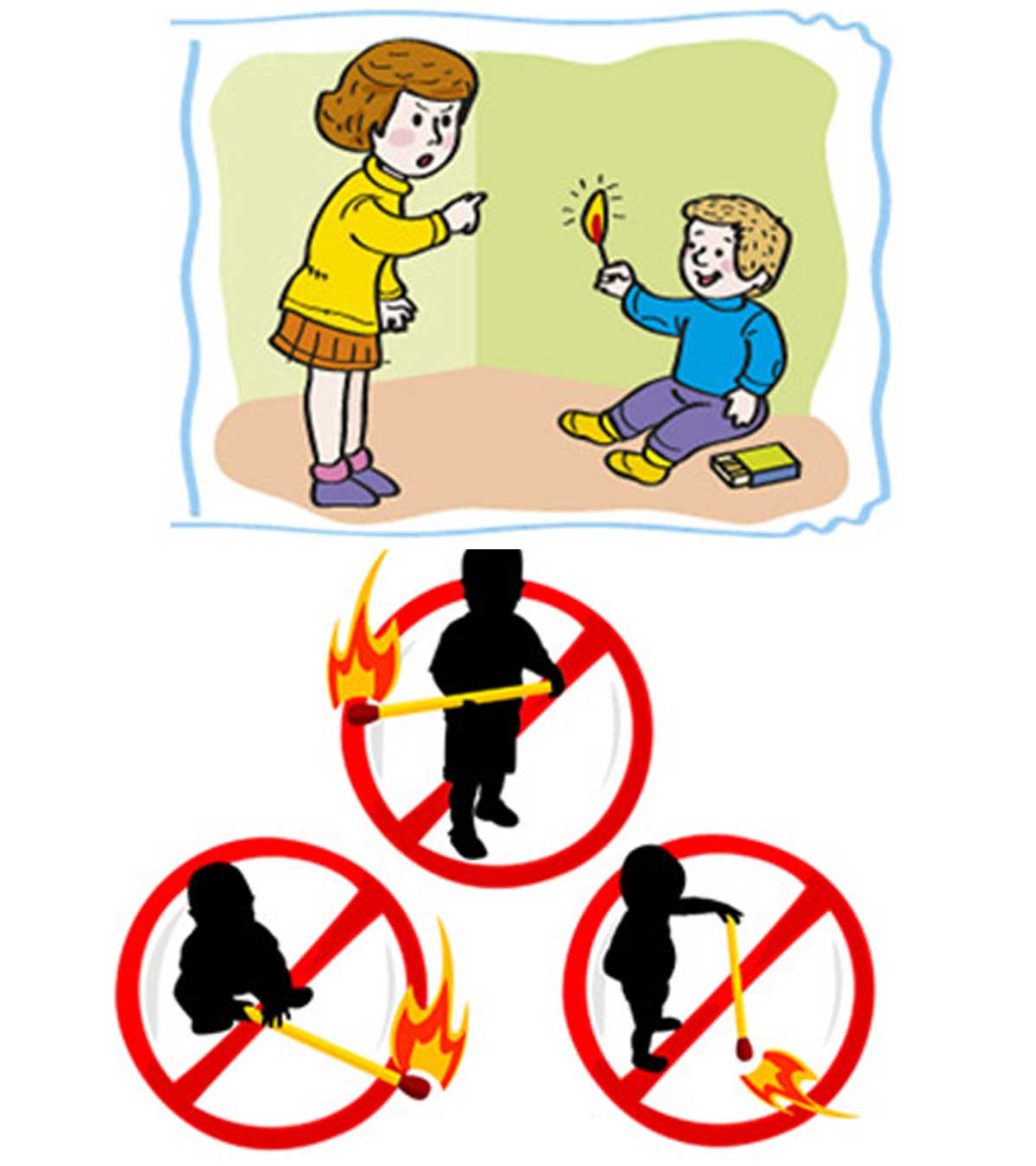 Top 10 Home Fire Safety Tips For Kids.