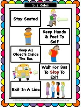 Safety rules at school clipart 2 » Clipart Station.