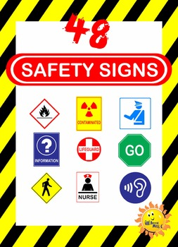Safety Signs Clip Art.