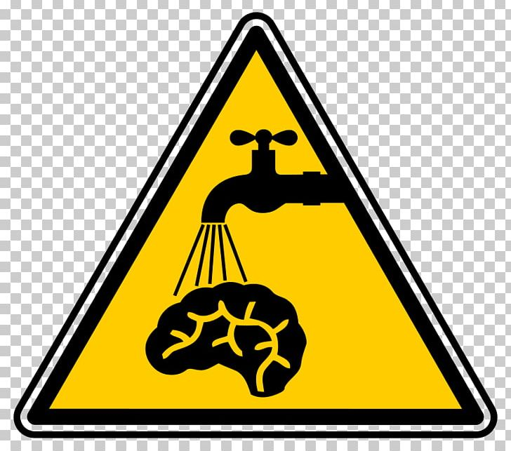 Sign Safety Symbol Hazard PNG, Clipart, Area, Brain.