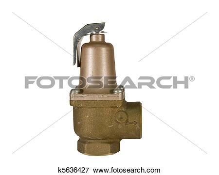 Picture of brass safety valve k5636427.
