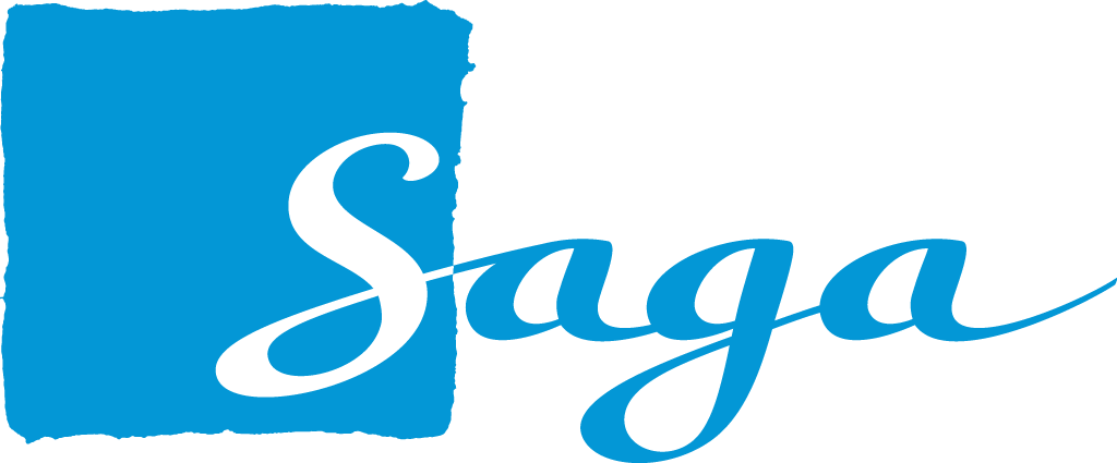 Saga Logo.