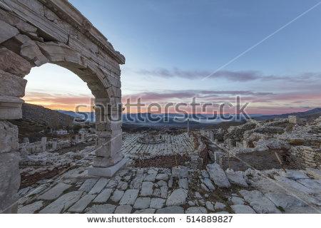 Turkey Roman Ruins Stock Photos, Royalty.