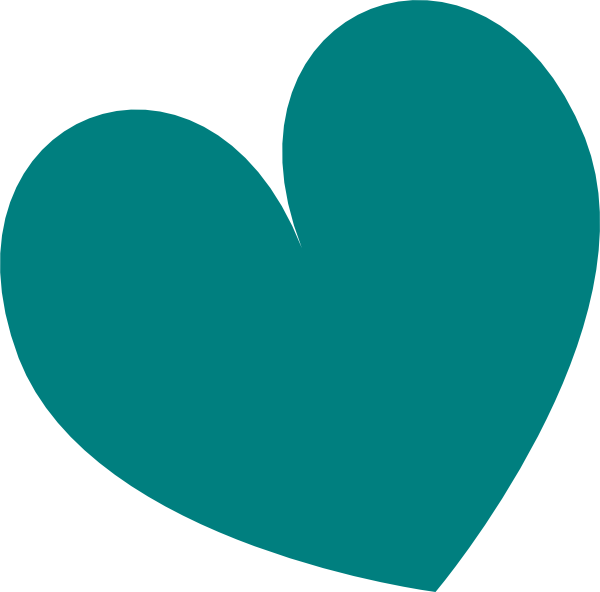 Sage Green Double Heart Clipart.