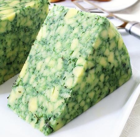 Derby cheese.