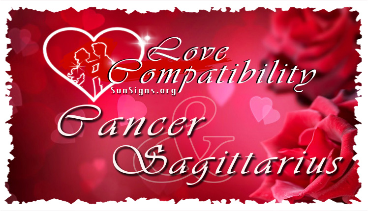 Cancer Sagittarius Love Compatibility.